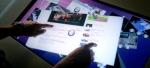 touchscreen gesture i-Stand navigazione web